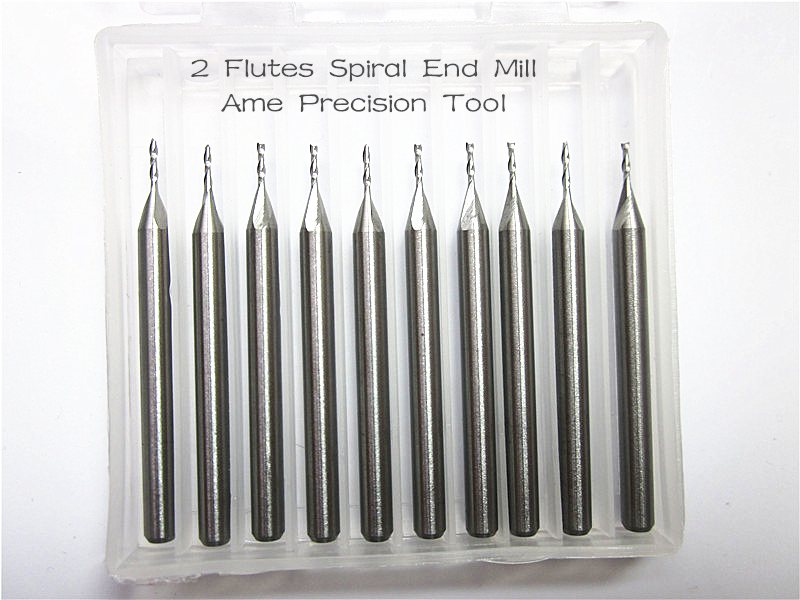 3.175mm * 1.5mm * 12mm, Ücretsiz kargo, CNC karbür end mill, ağaç İşleme router bit, Tungsten up cut end mill, 2 flüt sonu freze