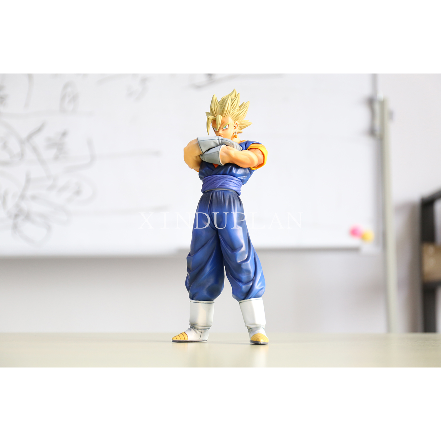 XINDUPLAN Dragon Ball Z Anime Dragonball Vegetto Son Goku Kakarotto Vegeta Süper Saiyan Action Figure Oyuncaklar 19 cm PVC Model 0400