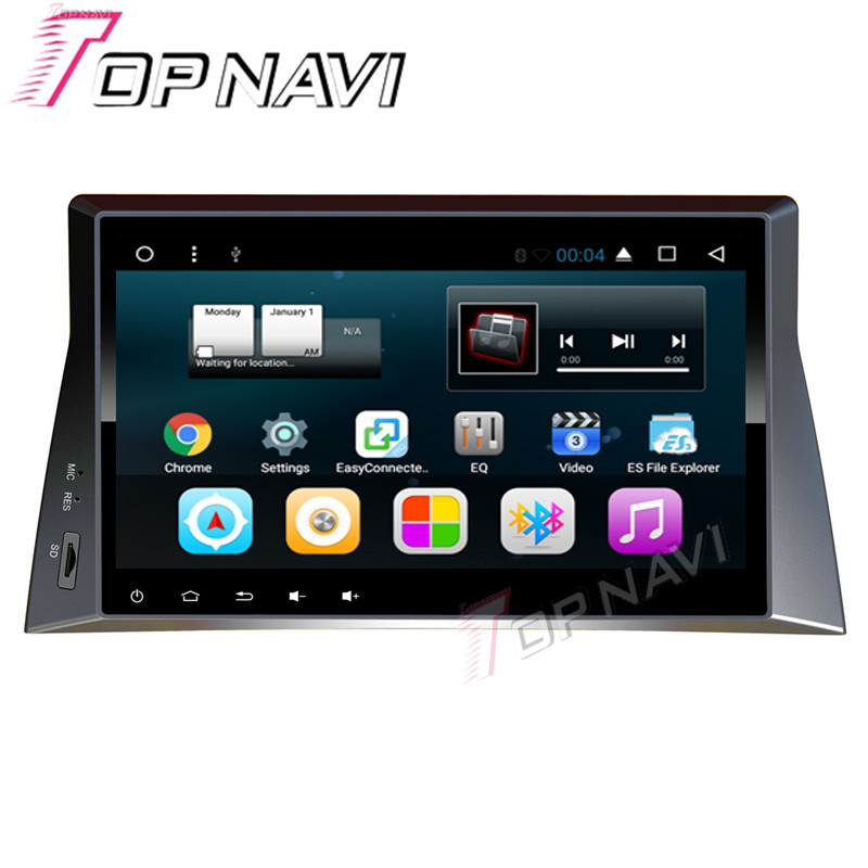 Topnavi 10.1 Quad Core Android 6.0 Araba GPS için Honda Accord 8 2007 2008 2009 2010 2011 2012 2013 Multimedya Ses, HIÇBIR DVD