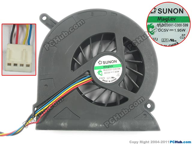 SUNON MG80200V1-C000-S99 DC 5 V 1.95 W Sunucu Blower fan