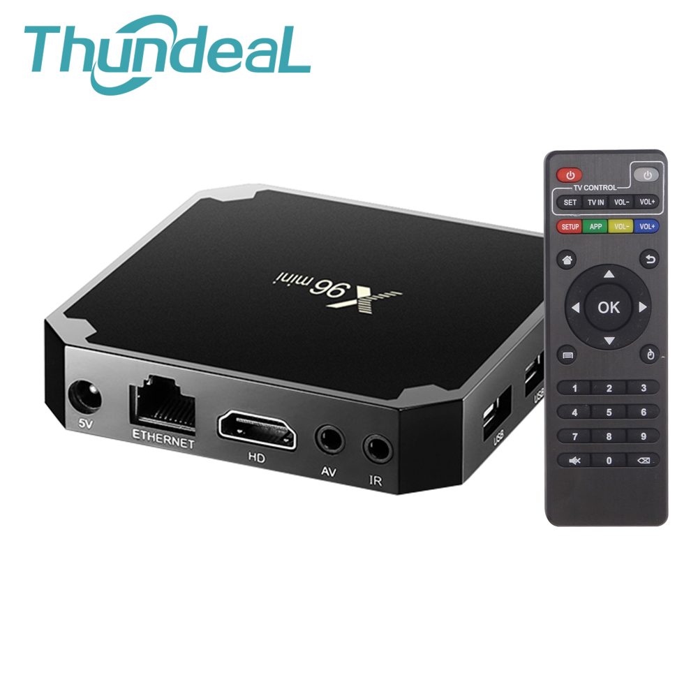 X96 Mini TV Kutusu Android 7.1.2 WIFI 4 K HD Smart Media Player Akıllı S905W Set Top BOX 8G 32G Amlogic Quad Core HDMI X96Mini TV Kutusu