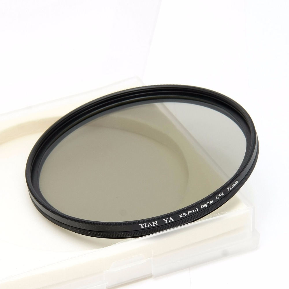 TIANYA 58mm İnce Dairesel Polarize CIR-PL 58 CPL Filtre