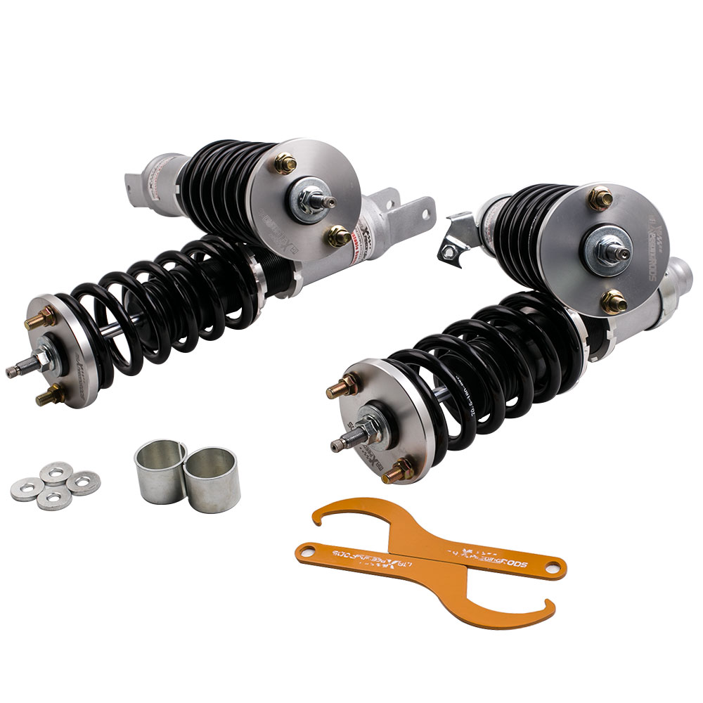 Coilovers Süspansiyonlar fit 1988 1989 1990 1991 Honda Civic CRX için Amortisör Struts